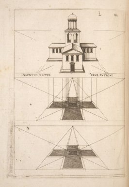 Plate 40 in the book Leçons de perspective positive (Paris: Mamert Patisson, 1576)