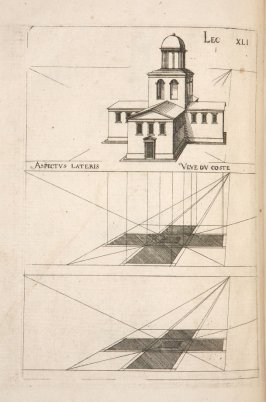Plate 41 in the book Leçons de perspective positive (Paris: Mamert Patisson, 1576)