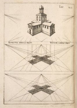 Plate 42 in the book Leçons de perspective positive (Paris: Mamert Patisson, 1576)