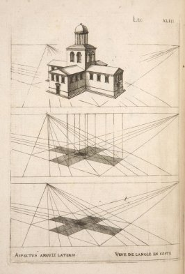 Plate 43 in the book Leçons de perspective positive (Paris: Mamert Patisson, 1576)