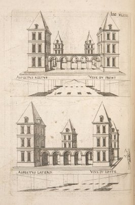 Plate 44 in the book Leçons de perspective positive (Paris: Mamert Patisson, 1576)