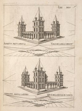 Plate 45 in the book Leçons de perspective positive (Paris: Mamert Patisson, 1576)