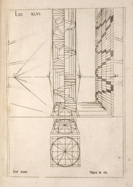 Plate 46 in the book Leçons de perspective positive (Paris: Mamert Patisson, 1576)
