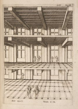 Plate 49 in the book Leçons de perspective positive (Paris: Mamert Patisson, 1576)