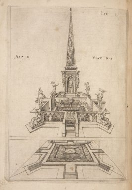 Plate 50 in the book Leçons de perspective positive (Paris: Mamert Patisson, 1576)