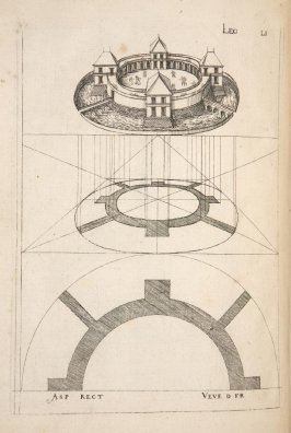 Plate 51 in the book Leçons de perspective positive (Paris: Mamert Patisson, 1576)