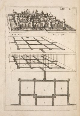 Plate 53 in the book Leçons de perspective positive (Paris: Mamert Patisson, 1576)