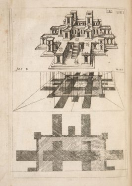 Plate 54 in the book Leçons de perspective positive (Paris: Mamert Patisson, 1576)