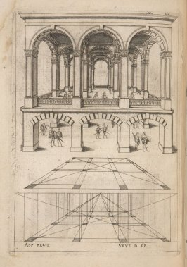 Plate 55 in the book Leçons de perspective positive (Paris: Mamert Patisson, 1576)