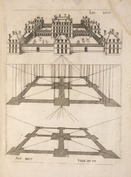 Plate 57 in the book Leçons de perspective positive (Paris: Mamert Patisson, 1576)