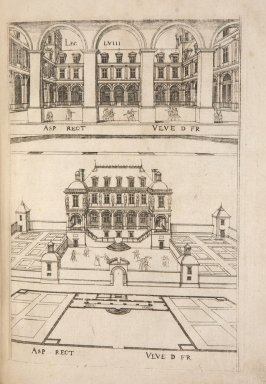 Plate 58 in the book Leçons de perspective positive (Paris: Mamert Patisson, 1576)