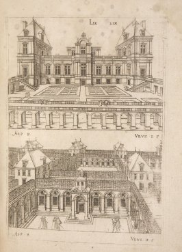 Plate 59 in the book Leçons de perspective positive (Paris: Mamert Patisson, 1576)