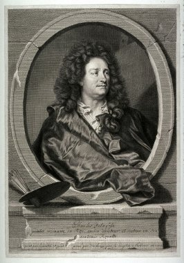 Charles Delafosse, (after painter Gaspard Rigaud)