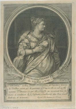 One of Five portraits of Roman emperors and empresses