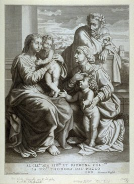 Holy Family with saints