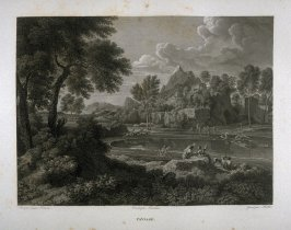 Paysage (Landscape)...forty fourth plate in the book...Le Musée royal (Paris: P. Didot, l'ainé, 1818), vol. 2