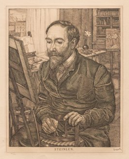 Portrait of Steinlen