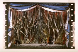 Beauty and the Beast: Decor for Enchanted Forest Scene Act I