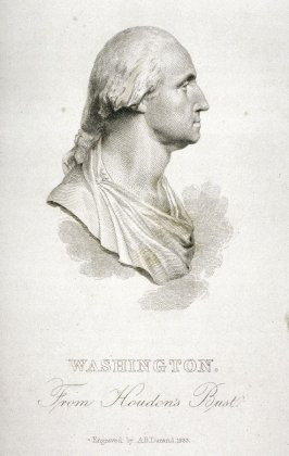 Washington. From Houdon's Bust