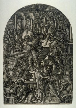 The Torture of St. John the Evangelist, from the series, The Apocalypse