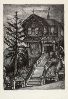 Old House in San Francisco