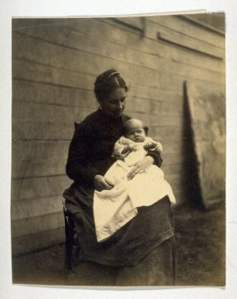 Frances Crowell and Her Child