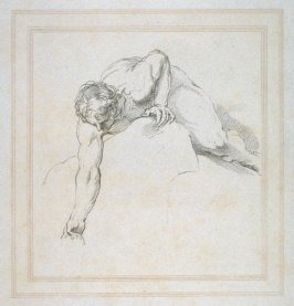Study for Moses striking the rock, illustration to the series 'A collection of prints, after the sketches and drawings of the late celebrated Giovanni Battista Cipriani'