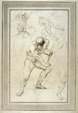 Saturn, illustration to the series 'A collection of prints, after the sketches and drawings of the late celebrated Giovanni Battista Cipriani'