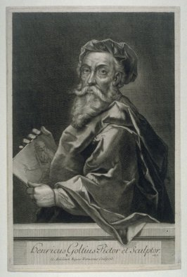 Portrait of Goltzius