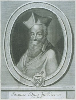 Portrait of Jacques Baui du Perron, Cardinal