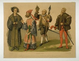 16th-century French clothing of aristocrat, gentleman, merchant and squire