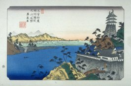 Unuma, pl. 53 from a facsimile edition of Sixty-nine Stations of the Kiso Highway (Kisokaido rokujukyu tsui)