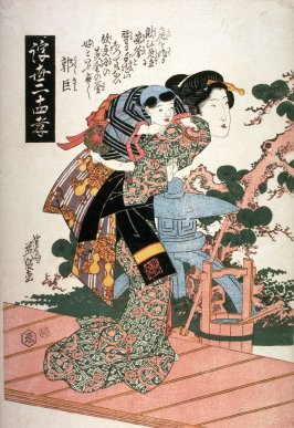 Guojo (Kakukyo) from the series Twenty-four Examples of Filial Devotion in the Floating World (Ukiyo nijushiko)