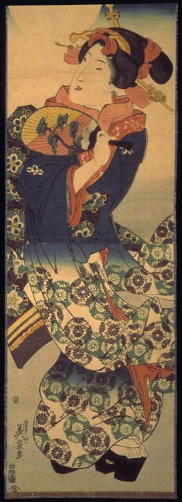 Geisha in Moonlight