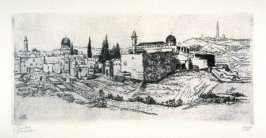 Untitled (view of Jerusalem ?)