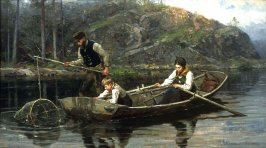 Peasants Fishing