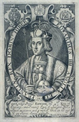 Portrait of Edward IV. House of York, illustration from the 'Baziliologia, a Booke of Kings' (1618)