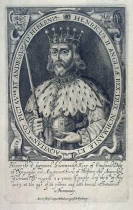Portrait of Henry II, illustration from the 'Baziliologia, a Booke of Kings' (1618)