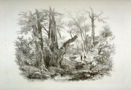 One from Five Sketches of Landscapes after Nature