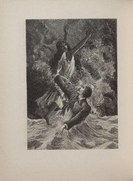 "Untitled, illustration 13, in the book Deuxiéme Cahier Lundi, Élement: L'Eau, Example: ""L'Eau,"" in the book Une semaine de Bonté ou les sept éléments capitaux (Paris: Editions Jeanne Bucher, 1934); volume 2 of 5"