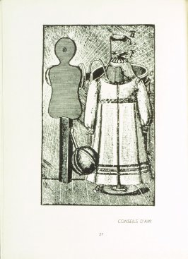 Illustration 13 in the book Misfortunes of the Immortals by Paul Eluard (New York: The Black Sun Press, 1943); translation by Hugh Chisholm