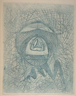 Untitled, pg. 5, in the book La Brebis galante by Benjamin Péret (Paris: Les Éditions Premières, 1949).