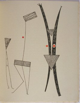 Untitled, pg. 67, in the book La Brebis galante by Benjamin Péret (Paris: Les Éditions Premières, 1949).