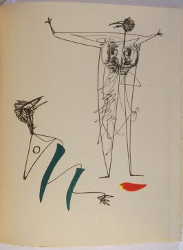 Untitled, pg. 41, in the book La Brebis galante by Benjamin Péret (Paris: Les Éditions Premières, 1949).