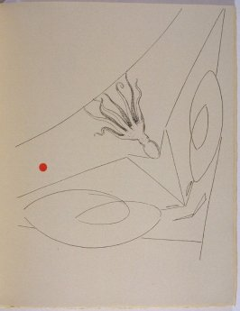 Untitled, pg. 21, in the book La Brebis galante by Benjamin Péret (Paris: Les Éditions Premières, 1949).