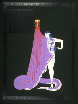 Untitled (woman with chalice and cape)
