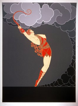 The Dancer, a plate from a series At The Theater