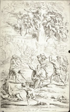 The Martyrdom of St. Etienne