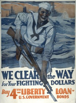 We clear the way - World War I poster