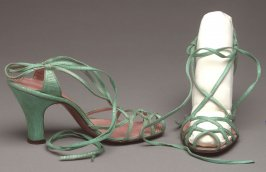 Pair of Woman's Evening Sandals